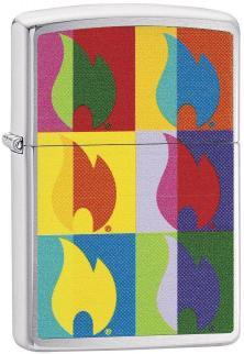 Brichetă Zippo Abstract Flame 29623