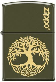 Brichetă Zippo Tree of Life in Laser 1465