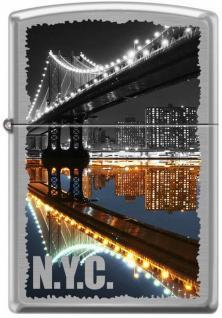 Brichetă Zippo New York City Manhattan Bridge 7841