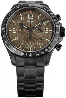 Ceas P67 Officer Pro Chronograph Khaki Steel 109460