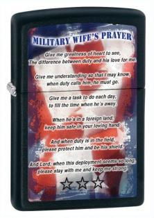 Brichetă Zippo Military Wife Prayer 26418