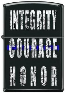 Brichetă Zippo Integrity Courage Honor 4954