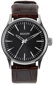 Ceas Nixon Sentry 38 Leather Brown Gator A377 1887