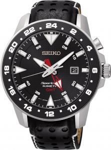 Ceas Seiko SUN015P2 Sportura Kinetic GMT