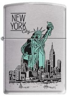 Brichetă Zippo NY City Statue of Liberty 9127