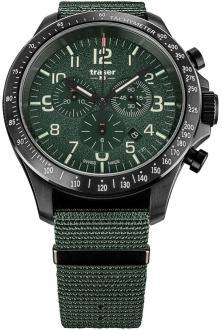 Ceas P67 Officer Pro Chronograph Khaki Steel 109463