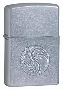 Brichetă Zippo Raised Dragon Stamped 21035