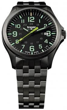 Hodinyk Traser P67 Officer Pro GunMetal Black Lime 107869
