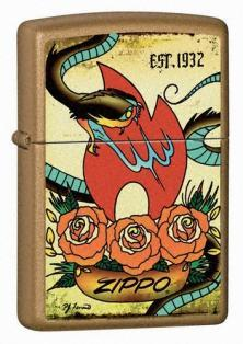 Brichetă Zippo Tattoo - The Traditions Collection 24043