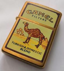Brichetă Zippo Camel Turkish Domestic Blend Brass