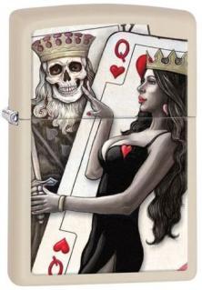 Brichetă Zippo Skull King and Queen Beauty 29393