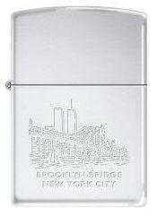 Brichetă Zippo Brooklyn Bridge WTC Towers 2274