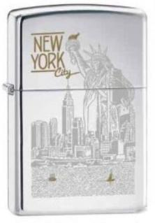 Brichetă Zippo Statue of Liberty NY City 6357