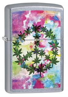Brichetă Zippo Cannabis Leaf and Peace 6687