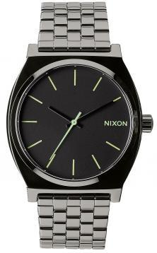 Ceas Nixon Time Teller Polished Gunmetal Lum A045 1885