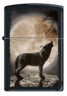 Brichetă Zippo Wolf Howling To The Moon 3731
