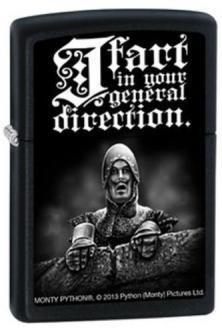 Brichetă Zippo Monty Python - I Fart In Your General 2753