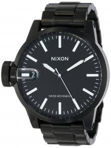 Ceas Nixon Chronicle SS All Black A198 001