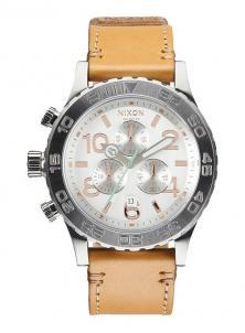Ceas Nixon 42-20 Chrono Leather Natural/Silver A424 1603