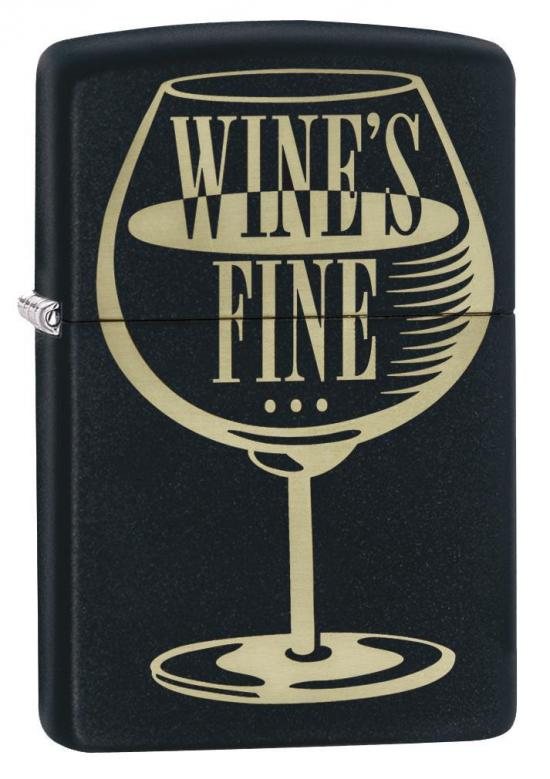 Brichetă Zippo Wine is Fine Design 29611