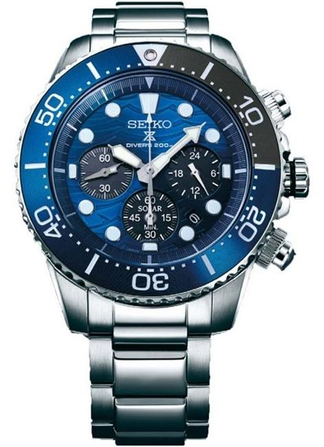 Ceas Seiko SSC741P1 Prospex Sea Save The Ocean